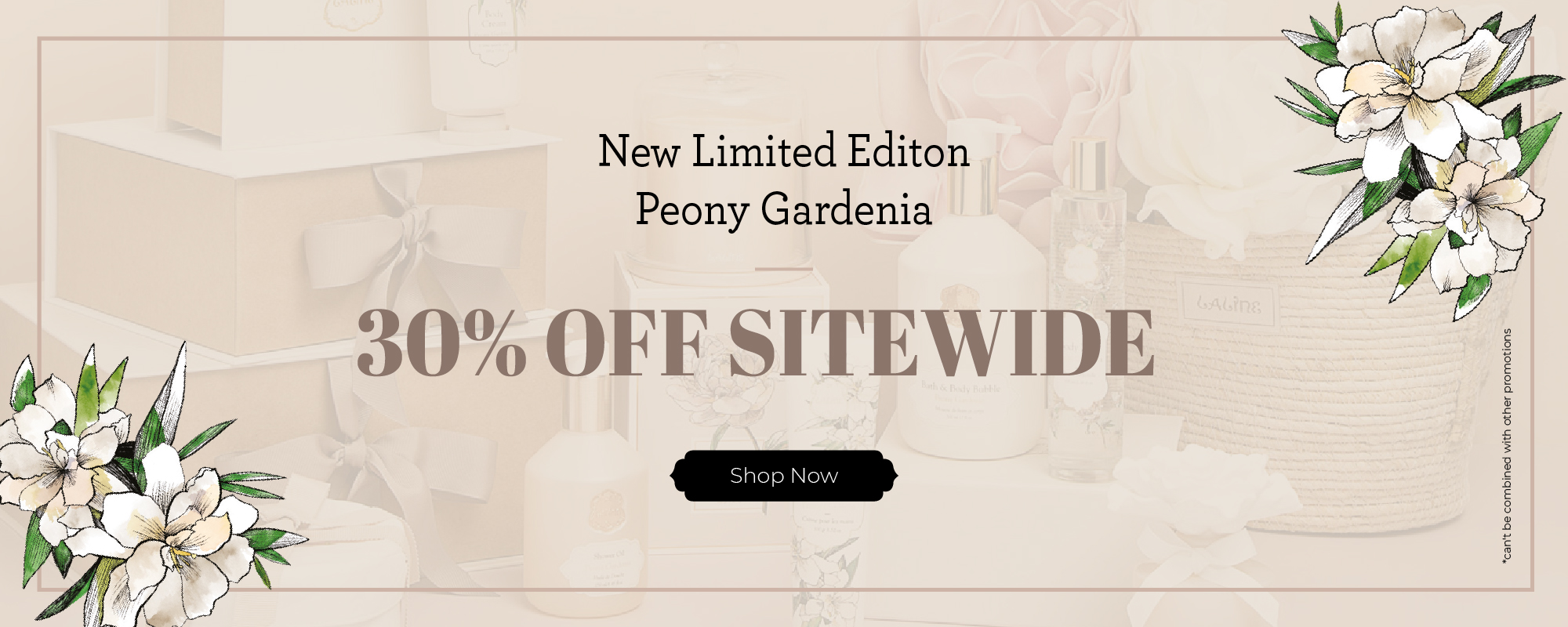 Peony Gardenia Collection