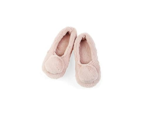 Girls Pompoms Slippers M