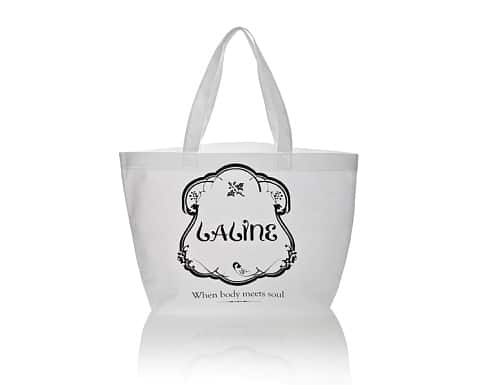 Laline white Fabric Bag M