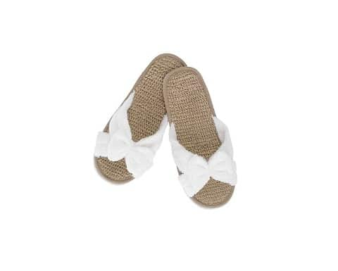 Bamboo Bath Slippers