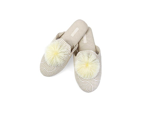 PomPom Slippers L