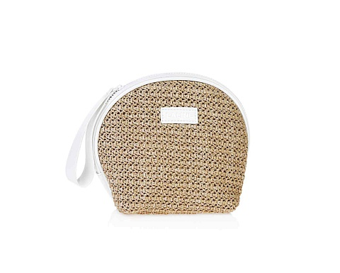 Straw Cosmetic Bag